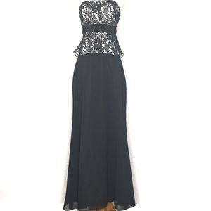 Alfred Sung Black Maxi Skirt A150735